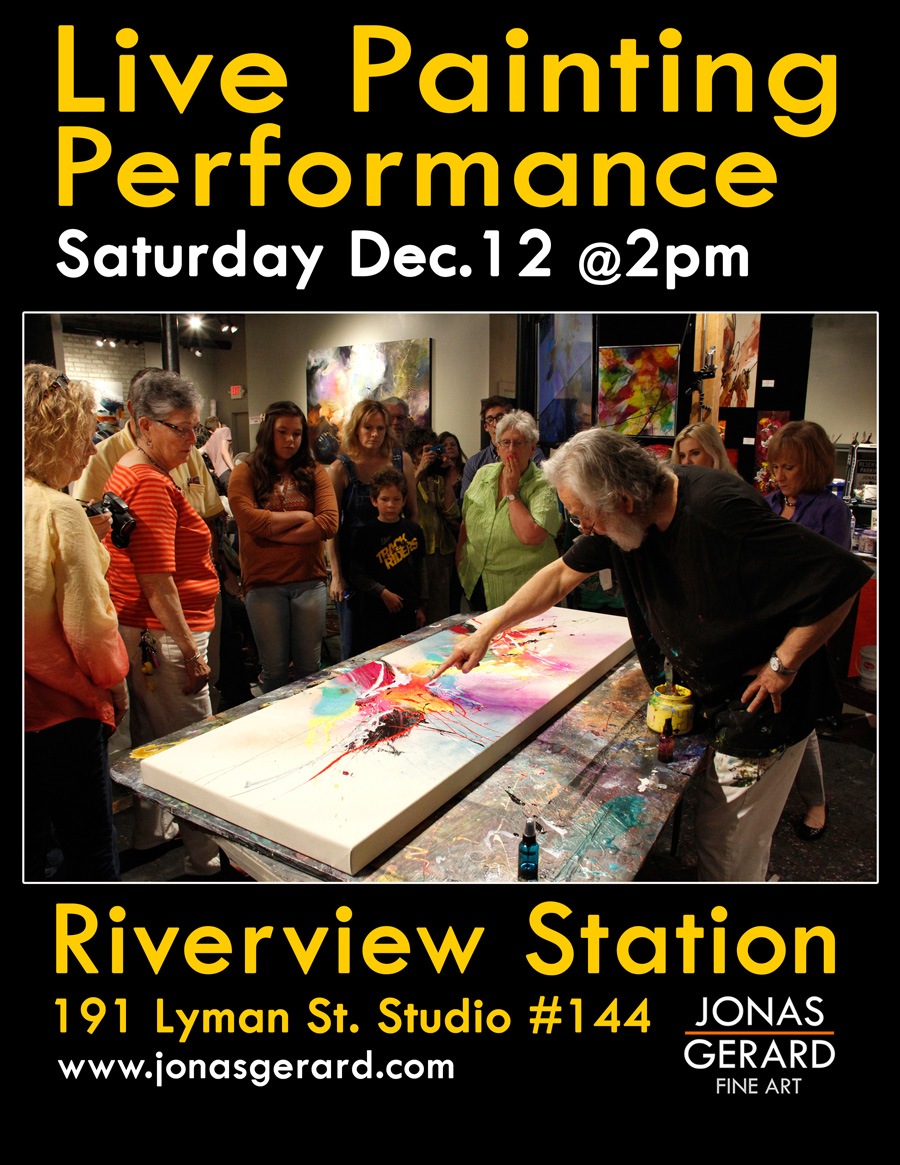 Painting Performance December 12.