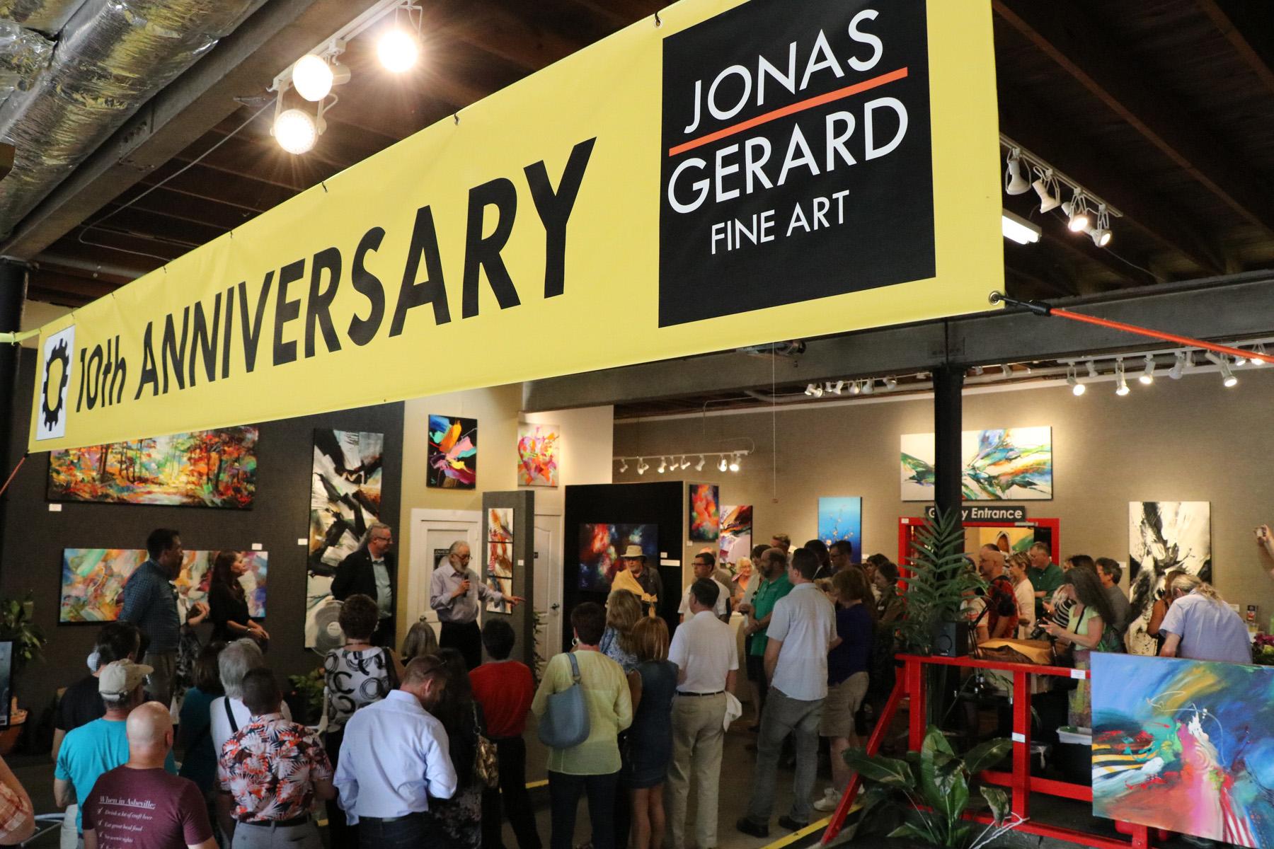 Jonas Gerard Fine Art celebrates 10 years in Asheville.