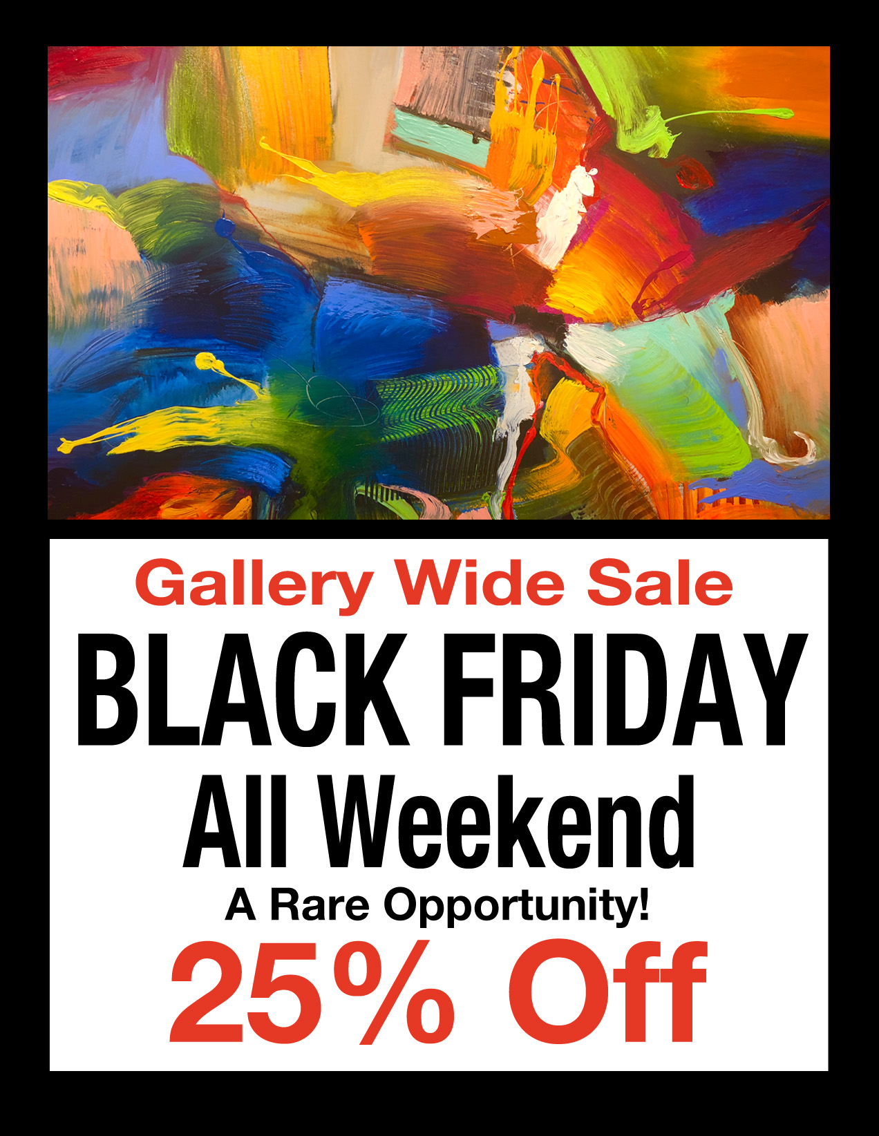 Black Friday Art Sale